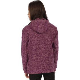 Regatta Khrissa Fleece Hoody Kids Winberry/Ash Rose